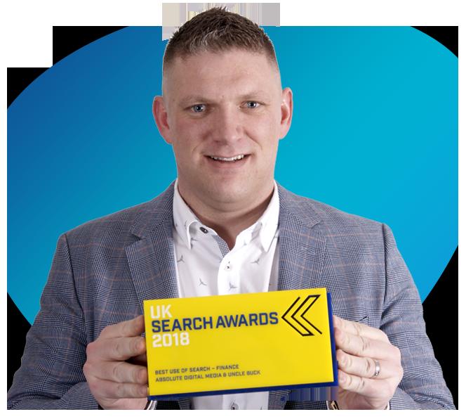 UK search award 2018