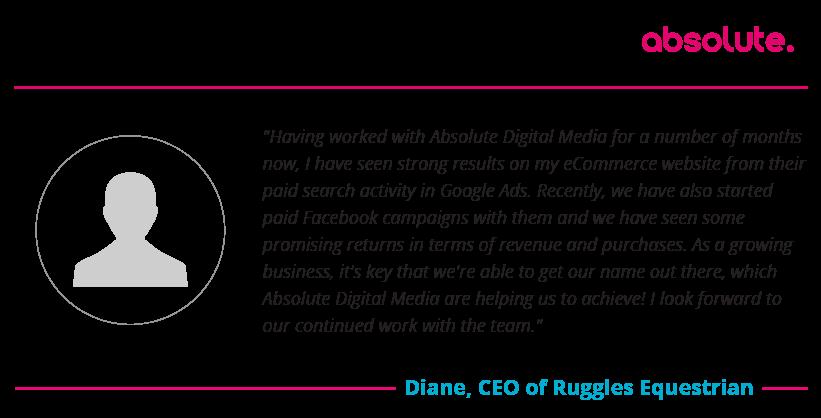 Diane Ruggles Equestrian testimonial