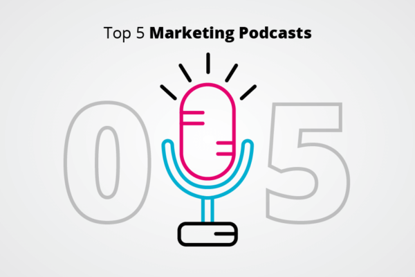 Top 5 Marketing Podcasts